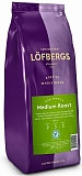 Lofbergs Medium Roast, Швеция, зерно, 1 кг